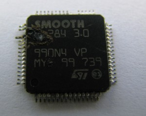 SMOOTH Motor Controller Chip Failure